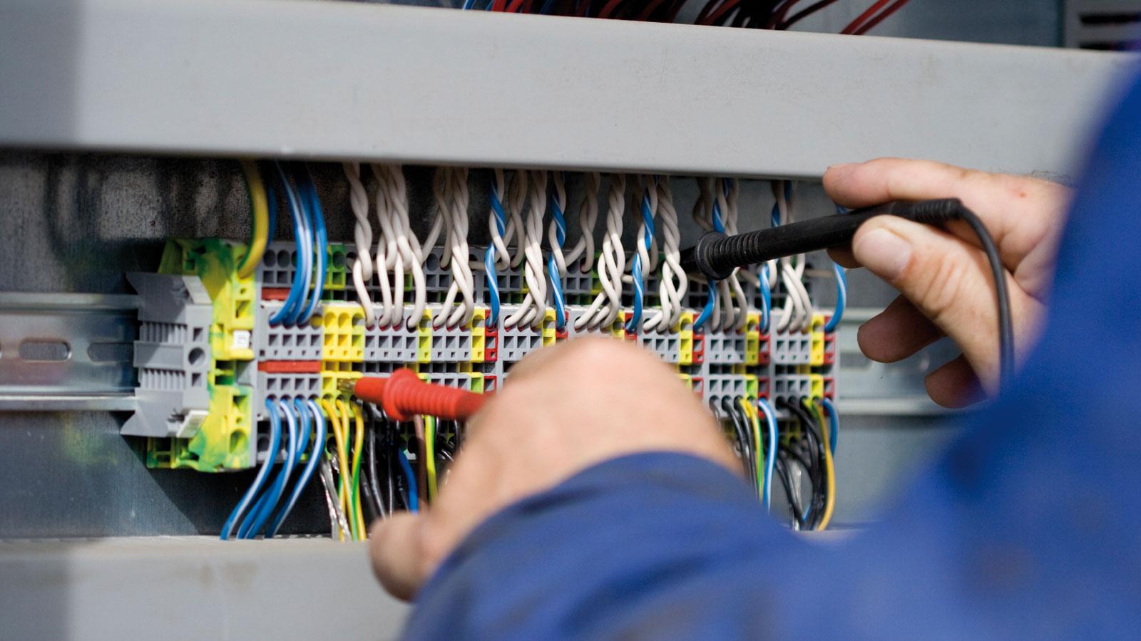 Schema Cablaggio Domotica : Cablaggio bonizzato impianti elettrici